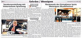 Presse vom 20.März 2013